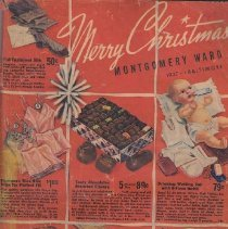 Image of Merry Christmas Montgomery Ward - Catalog, Montgomery Ward