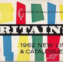 Image of Britains Ltd 1962 New Lines & Catalogue - Catalog, Britains Ltd.