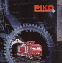 Image of Piko Modellbahn Catalog  - 1997 Piko HO Catalog, has table of contents and index