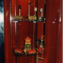 Image of Campbell Museum Train Display. - Campbell Museum Train Display.  There are 23 pictures in the set, numbered from .001 to .025 with no pictures numbered .015 or .019.  There are duplicates for 21 of the pictures, with none for .021 or .022.