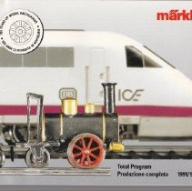 Image of Marklin Total Program 1991/92 E-1 - Catalog, Marklin, Total Program 1991/92 E-1, Ho Scale