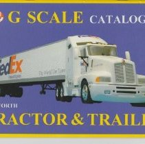 Image of G Scale Catalog No. 6 - Catalog, Model Power,LGB Structors, Kenworth Tractor & Trailers, and Figures G Scale