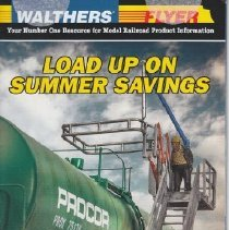 Image of Walters... Load Up on Summer Savings - Catalog, Walters, Flyer, HO Scale
