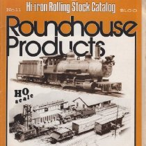 Image of Roundhouse Products HO Scale - Catalog, Model Die Casting, Roundhouse Products, Hi-Iron Rolling Stock