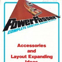 Image of Lionel Power Passers Folder - Lionel Power Passers Complete Control Racing System.  Accessories 