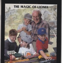 Image of The Magic of Lionel - The Magic of Lionel.  Model Railroading.  Promotional brochure.  Many ready-to-run train sets.