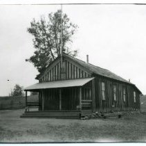 Image of P26489 - Tuttletown School.  Located on what is now Wilcox Ranch Road.