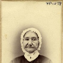 "Image of TP1578 - Portrait-Woman not identified. 2 cent Washington ""Interrev"" stamp on back.