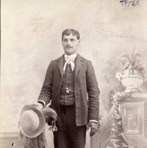 Image of TP1769 - Portrait-man not identified .  Circa 1920's.