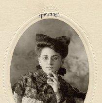 Image of TP1775 - Portrait-Woman not identified.  Album #1.  Circa 1880 - 1900.