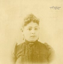 Image of TP1815 - Portrait-Woman, not identified. Circa 1860 - 1900.  Album #1.