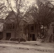 Image of TP2428 - Building-Presbyterian Church Built 1889 on Washington St & Dodge-now Christian Science Church, Sonora