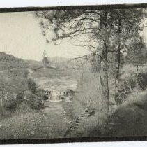 Image of TP2711 - Landscape - Mill Villa Dam on Sonora Creek.