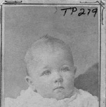 Image of TP279 - Picture of  unidentified infant.