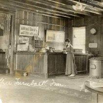 Image of TP3037 - Interior Office of the Turnback Inn, Aug.,1907.       Tuolumne.