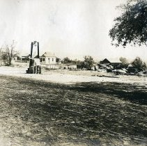 Image of TP4045 - Landscape-Bell now in front of Poverty Hill School, Stent.   