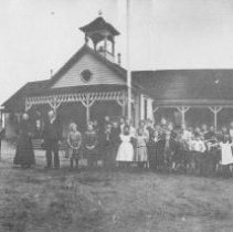 Image of TP4240 - Group-Poverty Hill School, 1900?