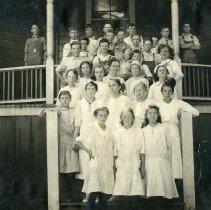Image of TP4784 - Group-School Children  Circa 1920 - 1930. Summerville School