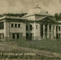 Image of TP479 - Tuolumne County High School, Sonora, 1912.