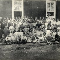 Image of TP560 - Columbia Grammar School - 1906 or 1907. Teachers - Nettie Siebert, Fanny Yancey Principal - G. P. Morgan Names - listed - shown in biography file of photographs.