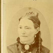 Image of TP6076 - Photograph of Mrs. Eunice Root Starbird - 1880.