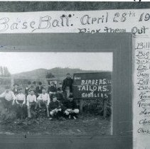 Image of TP6677 - Group - Baseball, April 28, 1901: