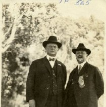 Image of TP565 - TOM GIBBONS - S.F. POLICE FORCE - MARRIED MOLLY JONES OF GROVELAND DR. LELAND TAKEN AT TUOLUMNE REUNION
