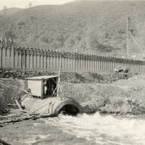Image of TP1759 - Building Dam. Moccasin, Cal. Picture in envelope in box.