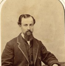 Image of TP3862 - A Black and white portrait of Jon C. Golding. Circa 1870's. Album #11 Sewell Collection.