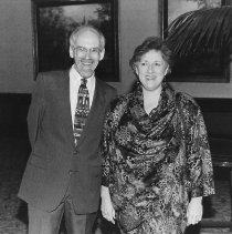Image of Pillars of Our Community 1997, attendees: Stan and Laurel Schwartz