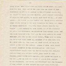 Image of Cantor Cysner Zbaszyn Diary p. 3 English