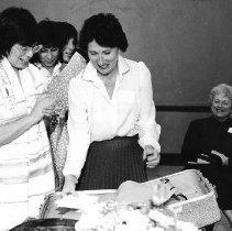Image of 1st Midlife Rite of Passage Ceremony, 1983 - Bonnie Feinman, Irene Fine ctr