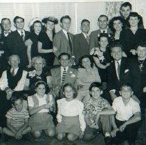 Image of Shelley & Klaskin Families at Gert & Mort's engagement party