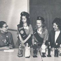 Image of B'nai B'rith Women Bay City Chapter -Dolls For Democracy Program Photographs - Laverne Fefferman Collection