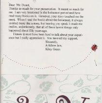 Image of Lou Dunst Letter 2