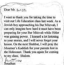 Image of Lou Dunst Letter 4