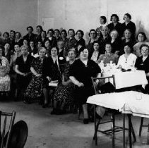 Image of Women's  Meeting , Date Unknown, possibly Temple Beth Israel