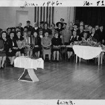 Image of Birdie Stodel Chapter B'nai B'rith Women 1946, Temple Beth Israel