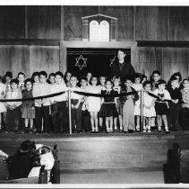 Image of Beth Jacob Sunday School Children 1950's