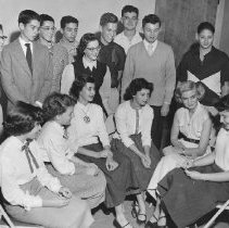 Image of Beth Jacob Youth Group 1950's