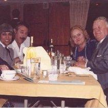 Image of l-r, Belle Roth, Arlene & Bert Schloss, Elizabeth & Louis Feller, Irv Roth