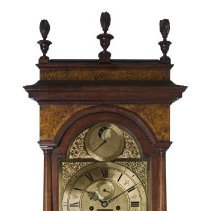 Image of Tall case clock detail