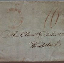 Image of Letter to Mr. Oliver E. Taber.