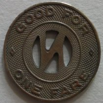 Image of Reverse of token.