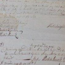 Image of Thomas Richardson Testimony, detail