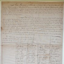 Image of Sherman marriage certificate, 1805