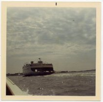 Image of Unidentified ferry (most likely in Newport Harbor).