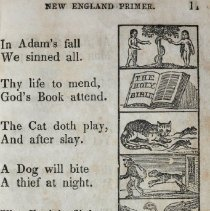 "Image of ""The New England Primer,"" Page 11."