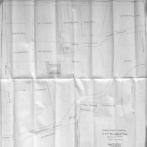 Image of Map of proposed changes to Ledge Road and vicinity, 1907.