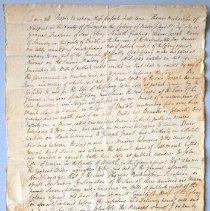 Image of Front of document.